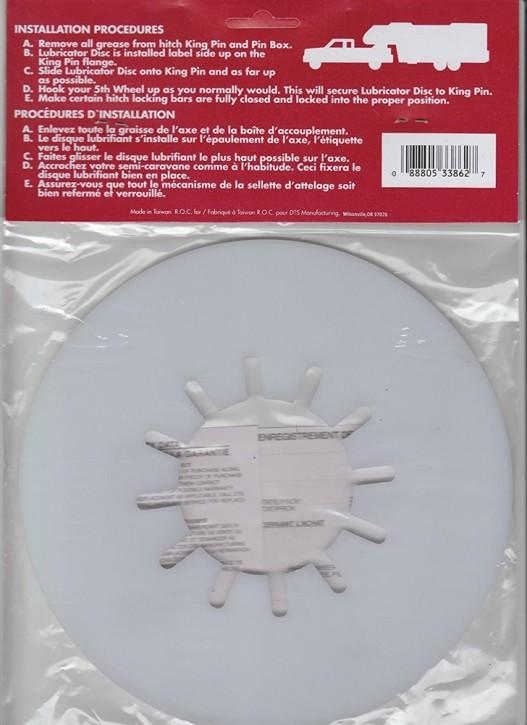 Lube Plate 10 Zoll Sattelplatte